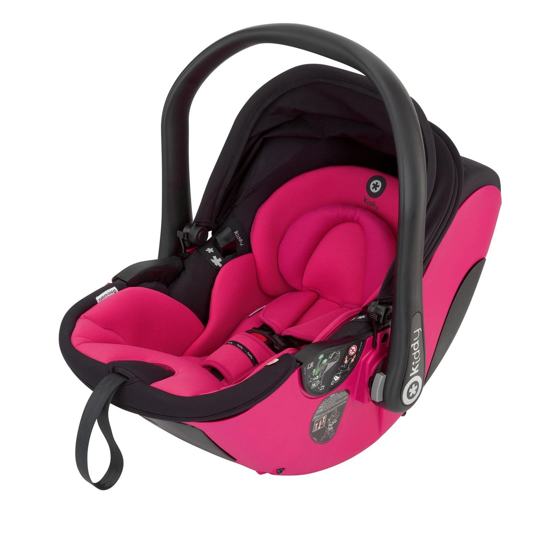 Kiddy Babyschale evo-lunafix 052 pink inkl. Isofix Base 2