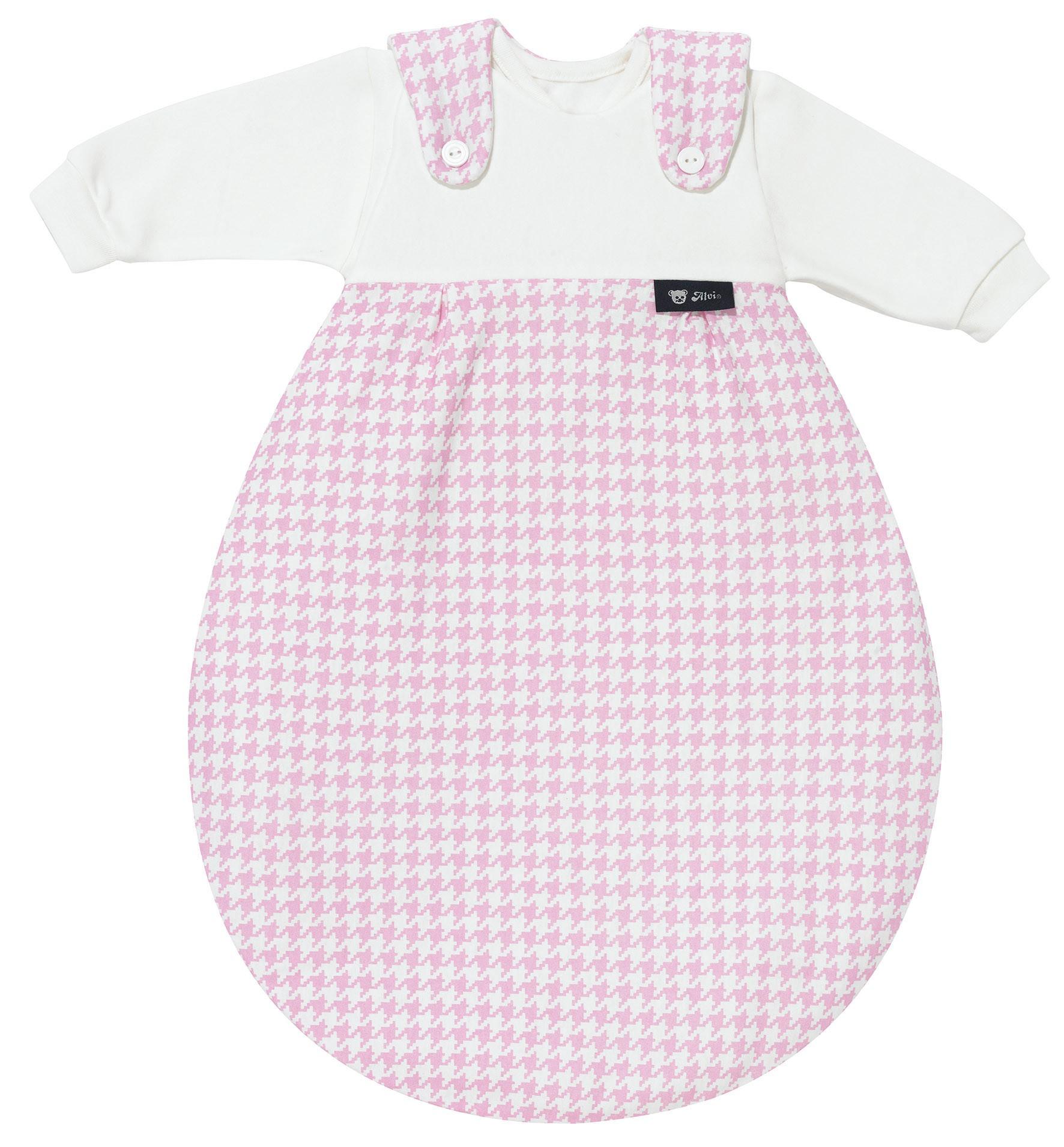 Alvi Baby Mäxchen 3tlg. Pepita rosa 567-2