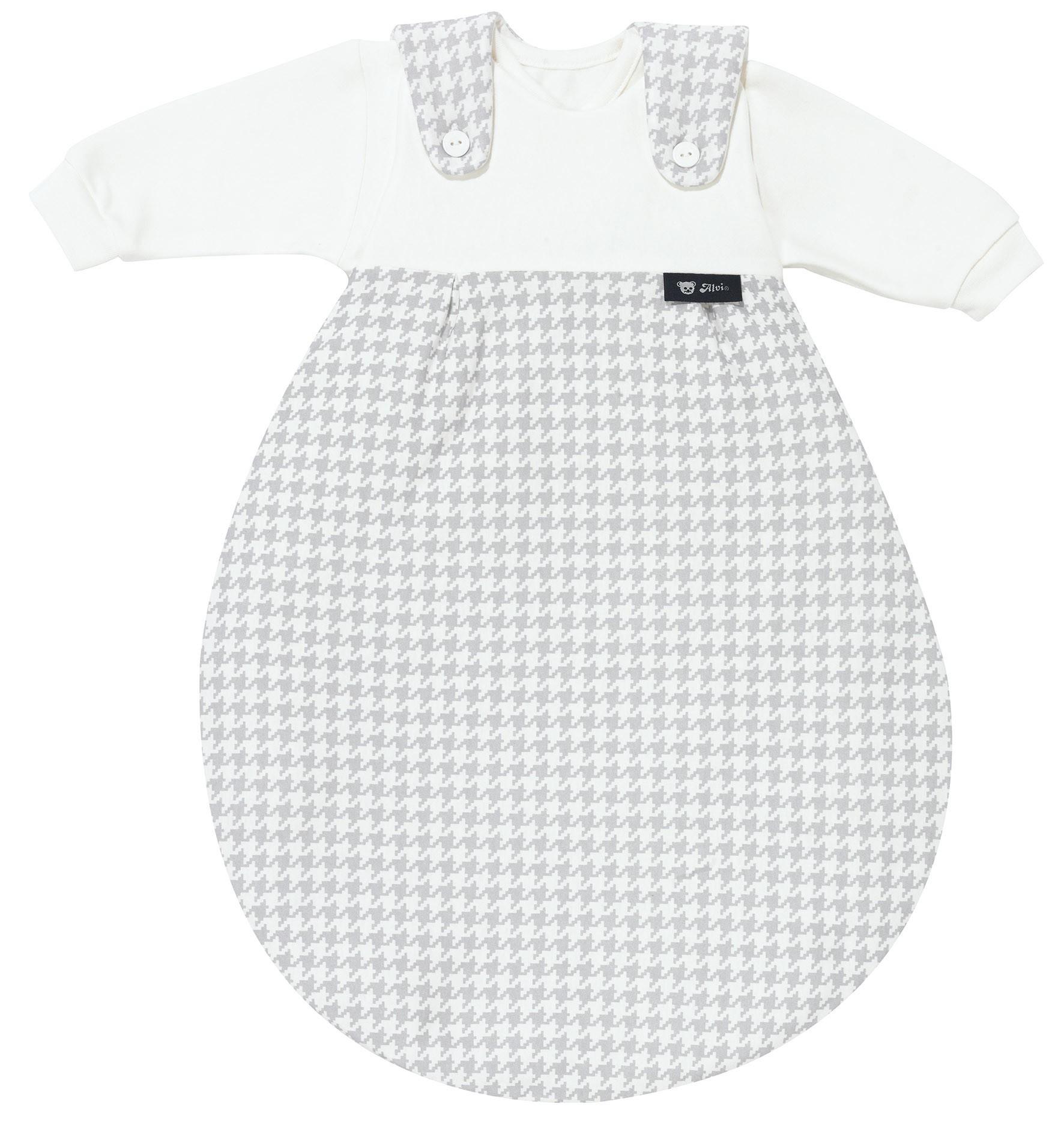 Alvi Baby Mäxchen 3tlg. Pepita silber 567-9