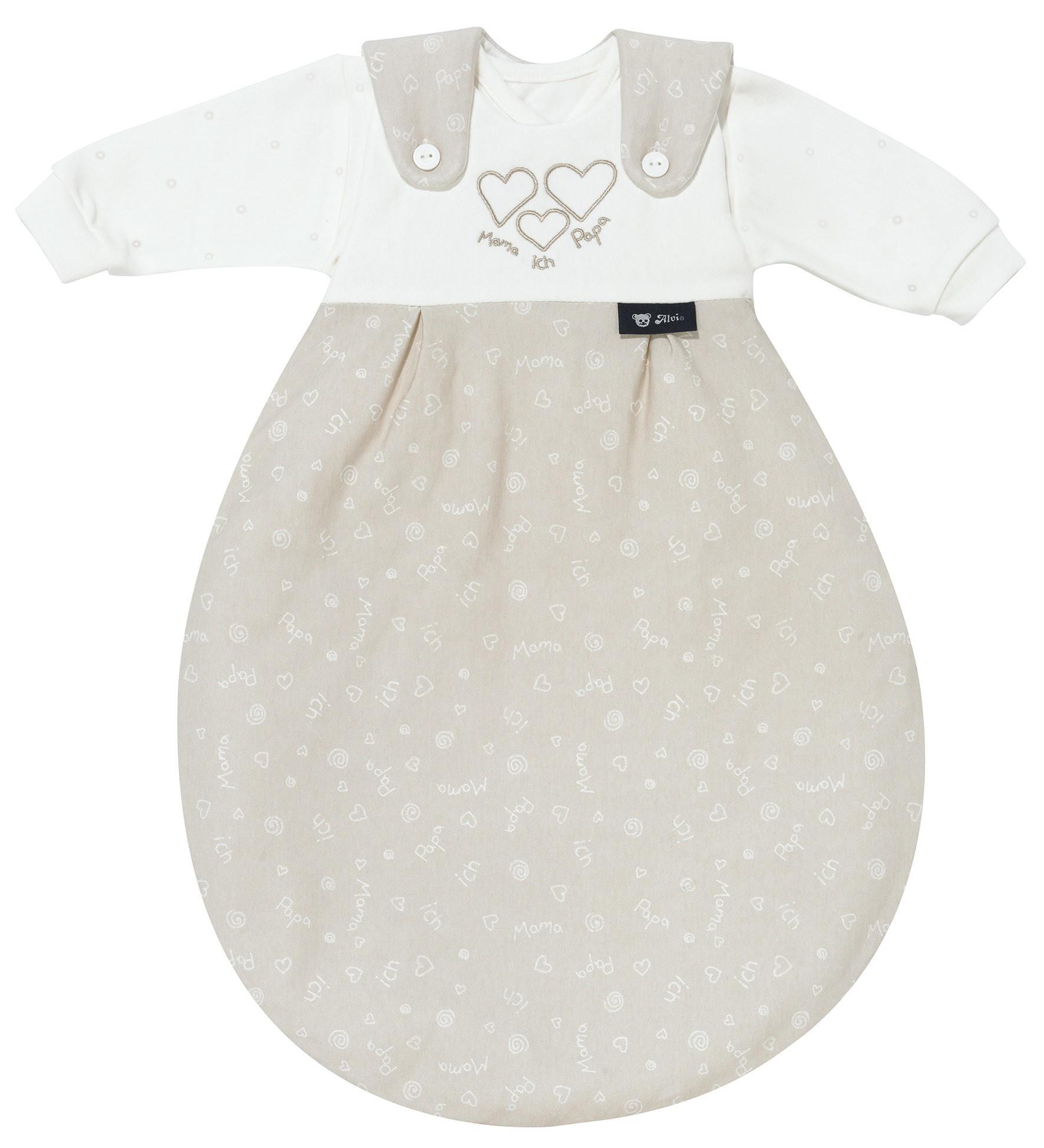 Alvi Baby Mäxchen Super-Soft 592-6 Mama-Papa-ich beige