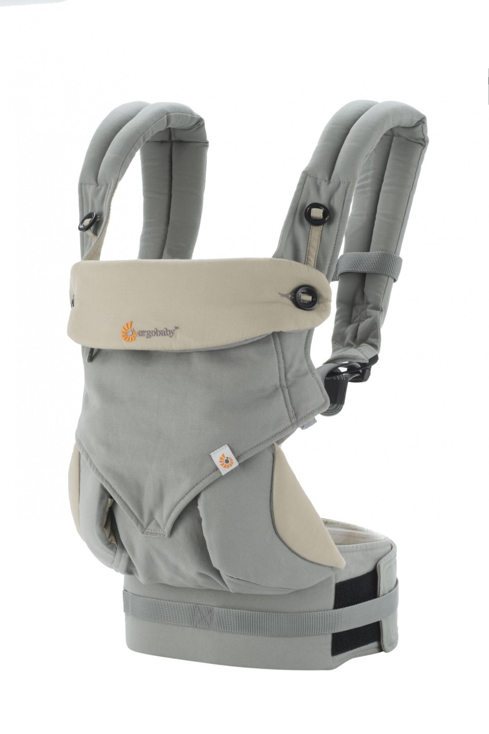 ERGObaby Babytrage 360 Grey/Taupe