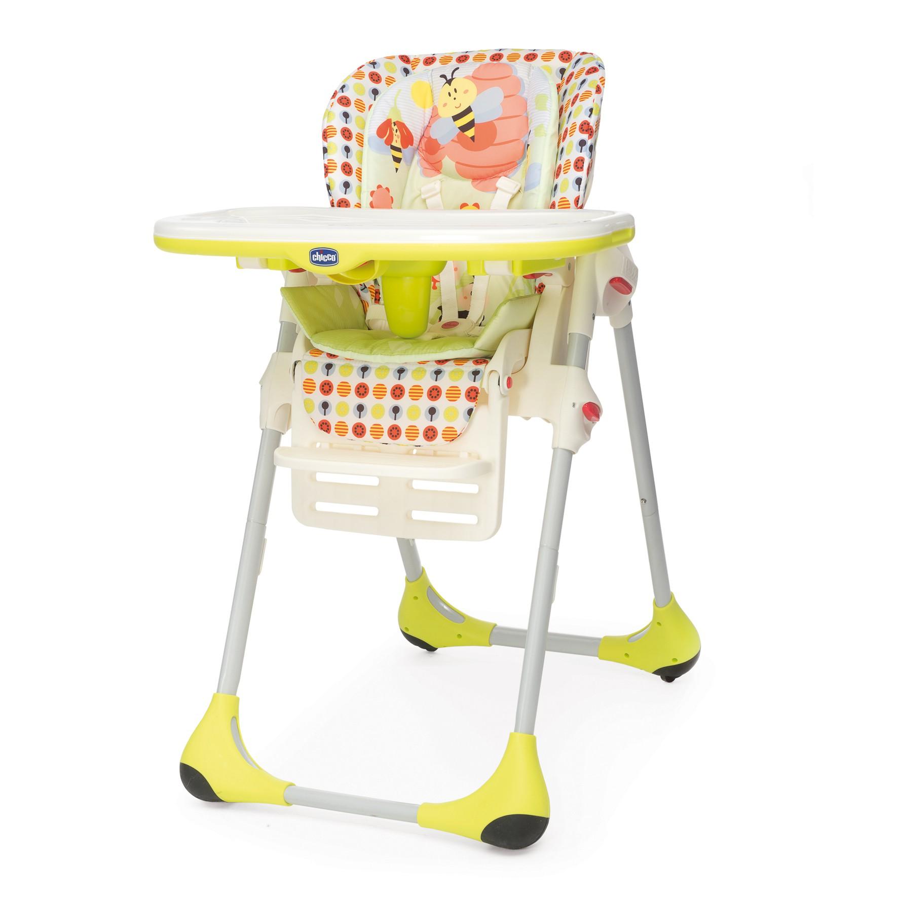 Chicco Polly Kinder-Hochstuhl 2 in 1 Sunny